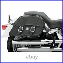 Saddlemen Drifter Slant Motorcycle Saddlebags Versatile Throw-Over Large