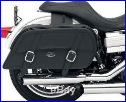 Saddlemen Drifter Slant Throw-Over Extra Jumbo 24 Saddlebags for Harley Metric