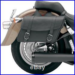 Saddlemen X021-02-042 Highwayman Slant Style Throw-Over Jumbo 18.5 Saddlebags