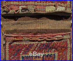 Shahsavan Soumac complete Khorjin, saddlebags, 21x52