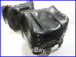 Throw Over Saddlebags With Support Rails off 2004 Harley Sportster 1200 #U4205