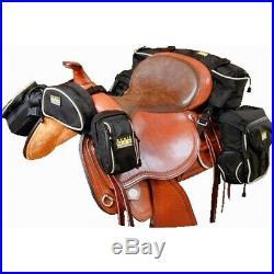 Trailmax 500 Complete Set, Saddlebag, Western Pack Bag, Pack System