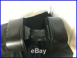 Triumph Bonneville Leather Throw Overs Saddlebag
