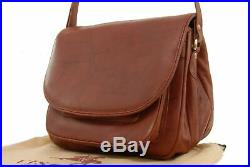 Visconti Saddle Bag- Atlantic Leather- Flap Over/Shoulder/Cross Body/Organise