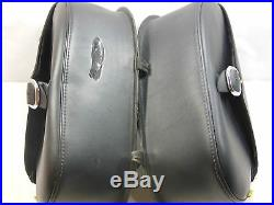 Willie & Max Throw Over Saddlebags & Yamaha V-Star650 Custom Support Rail #U3841