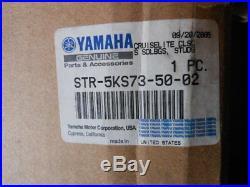 Yamaha Cruiselite Classic Saddlebags Str-5ks73-50-02 Studded Leather Throw Over